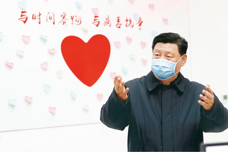 习近平:在中央政治局..